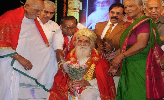 Gamka Rantakar B S S Koushik at his 100th birthday...