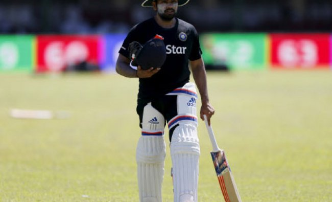 Rohit Sharma arrives at a practice session ahead of the second test cricket match against...
