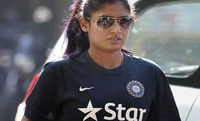 Indian women\'s cricket captain Mitali Raj arrives for a press conference at the BCC...