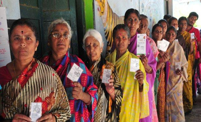 Zilla and Taluka Panchayath elections at Kethupura in Mysuru district...