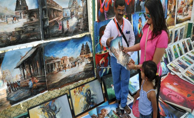 People enjoys at Open Street fest in MG Road, organized by Namma Metro...