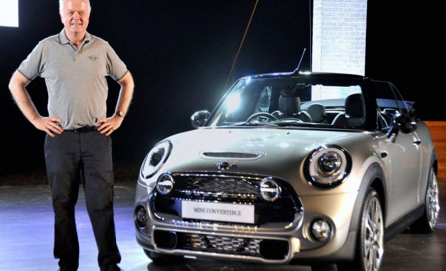 Launch of The All - New Mini Convertible in the Indian market...