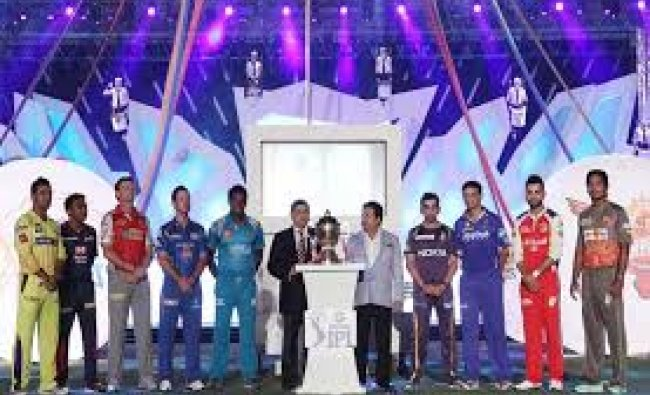 Ipl 2016 teams get together for Cup launch