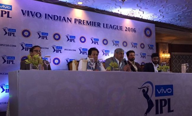 Ipl 2016 teams get together for Cup launch and auction