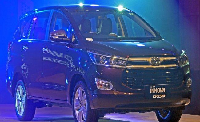Launch of Toyota Innova Crysta in Mumbai...