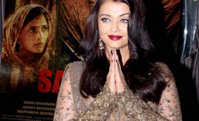 Aishwarya Rai Bachchan during the event organised to celebrate the success of film Sarbjit ...