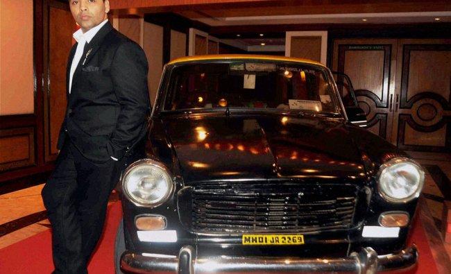Bollywood film producer director Karan Johar during a Google program...