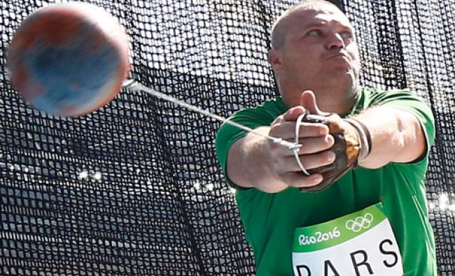 Men\'s Hammer Throw Qualifying Round - Group B - Olympic Stadium - Rio de Janeiro, Brazil ...