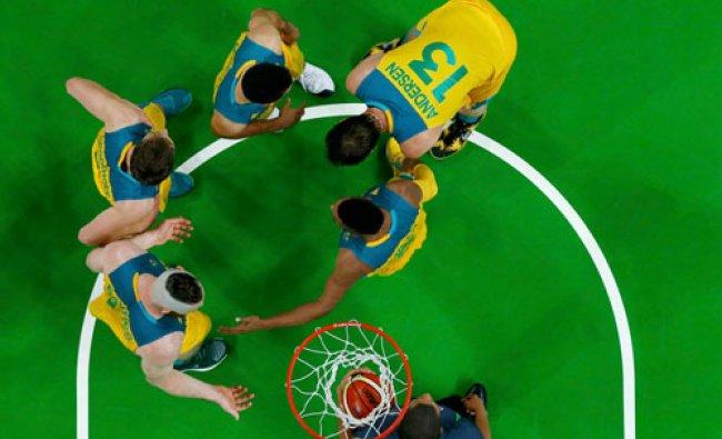 Men\'s Quarterfinal Australia v Lithuania - Carioca Arena 1 - Rio de Janeiro...