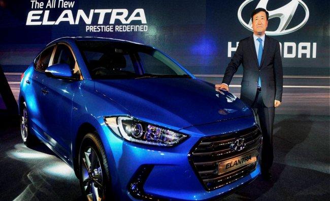 Hyundai Motors India unveils the all new Elantra...