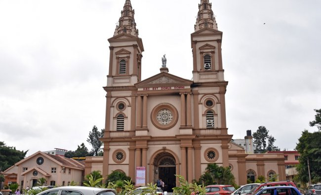 St Patrick Church celebrating 175th anniversary in Museum Road, Bengaluru...