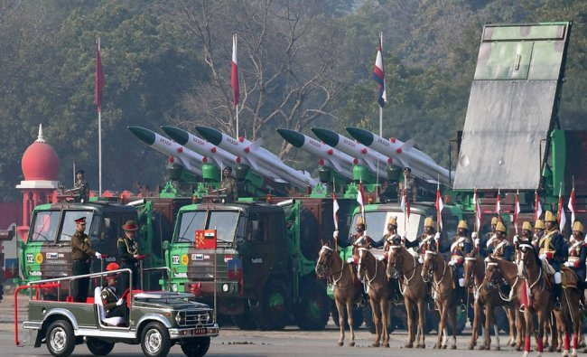Army Chief Gen Bipin Rawat inspecting the guard of honour during the Army Day parade in New Delhi...