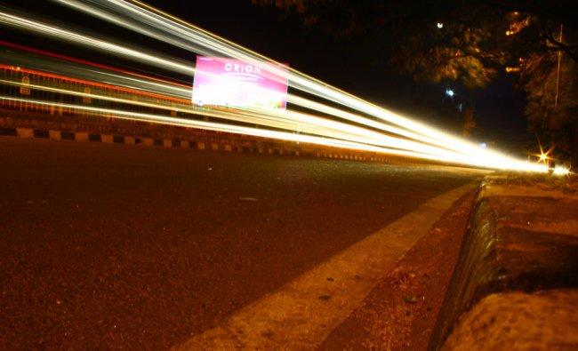 A night in the city from Bengaluru. Photo by Krishna Kumar Kowshik....