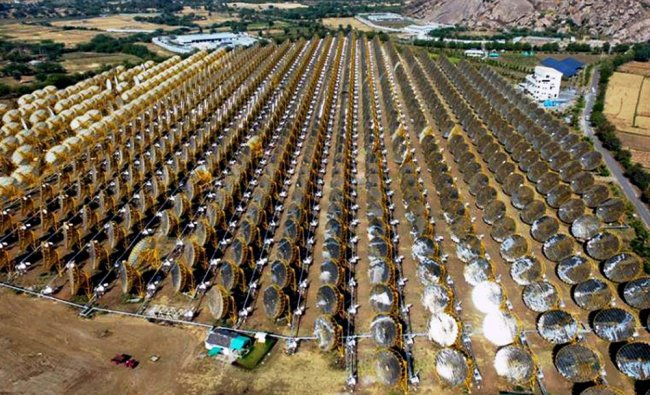 Solar power plant \'India One\', the biggest project which fuels cooking of over 35,000 meals a day...