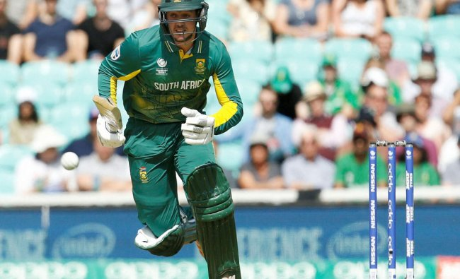 South Africa\'s Quinton De Kock during the ICC Champions Trophy...
