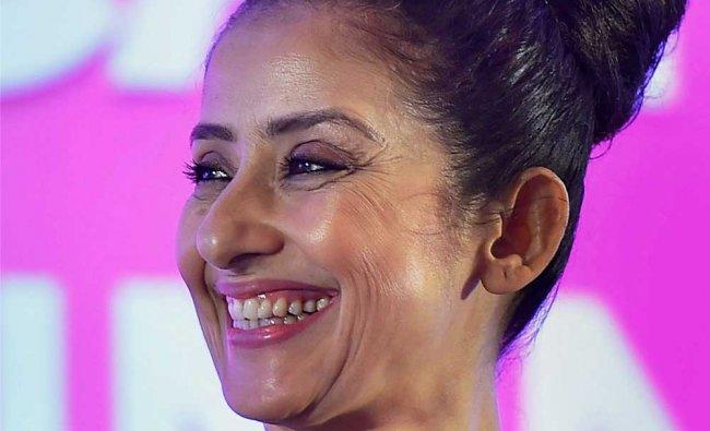 Bollywood actress Manisha Koirala during the Sixth Healthcare Access Summit