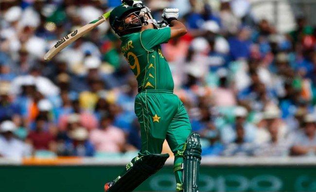 Pakistan\'s Azharr Ali in action during ICC Champions Trophy...