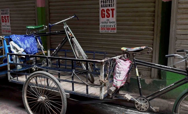 Textile shops in Kolkata closed for the third day on Thursday as traders protest against...
