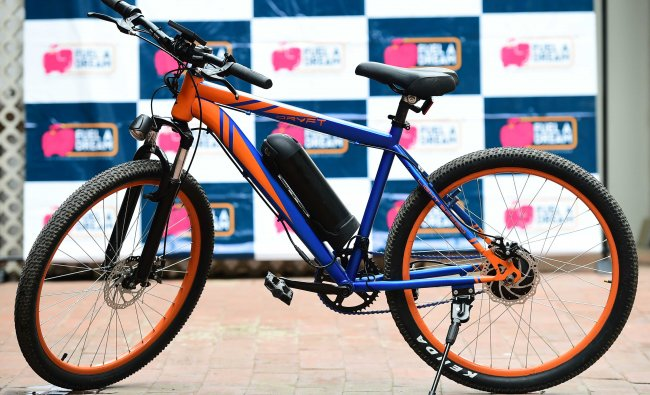Multi- teraain Electric bikes launched by Fueladream in Bengaluru on Thursday.