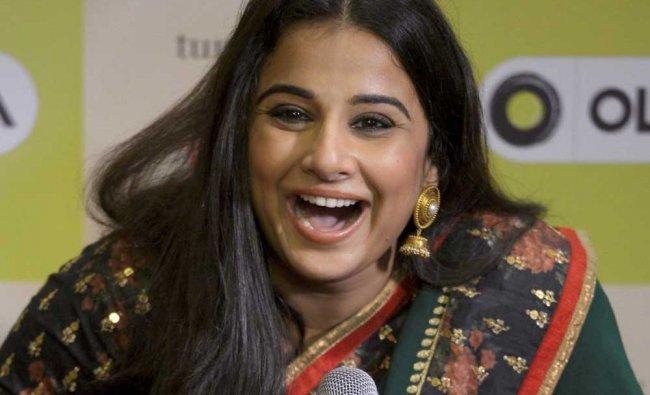 Bollywood actress Vidya Balan during a promotional event in Mumbai on Thursday.