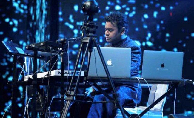 Music composer A R Rahman performs at The Sufi Route concert at Qutub Minar....