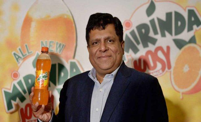 PepsiCo India Senior Vice President Vipul Prakash at the launch of Mirinda Joosy in Chennai...
