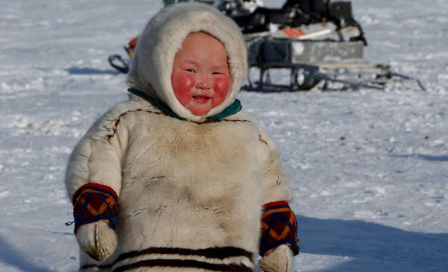A child from the indigenous community \