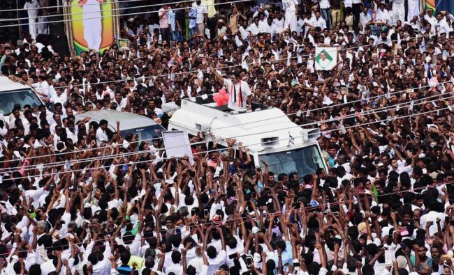 Sidelined AIADMK leader TTV Dhinakaran during the launch of his political party \'Amma...