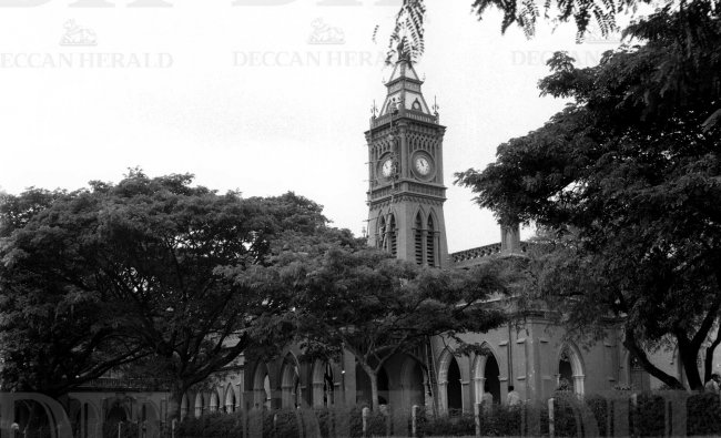 One of the oldest colleges in the country, Central College, clicked in 1958. DH Photo