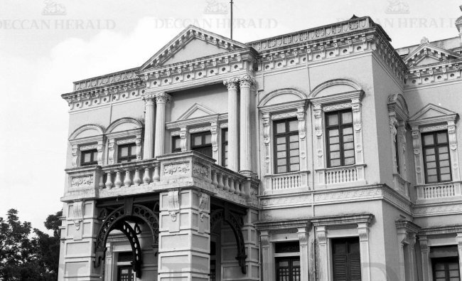 Mayo Hall, which was built in the honour of Lord Mayo, the 4th viceroy of India. DH Photo