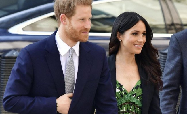 Britain\'s Prince Harry and Meghan Markle arrive at the Australian High Commission in London to attend a reception celebrating the forthcoming Invictus Games Sydney 2018. AP/PTI Photo