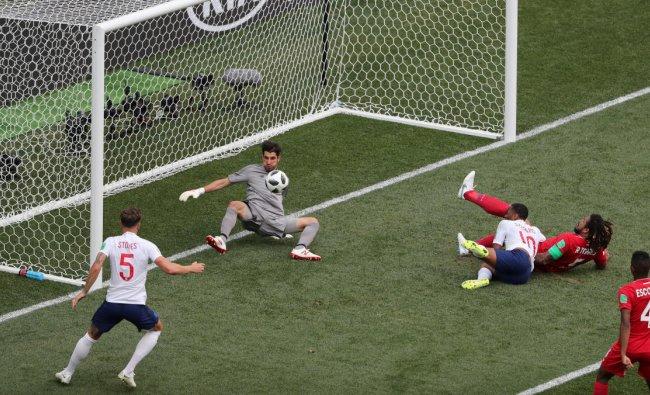 Soccer Football - World Cup - Group G - England vs Panama - Nizhny Novgorod Stadium, Nizhny Novgorod, Russia - June 24, 2018 England\'s John Stones scores their fourth goal REUTERS