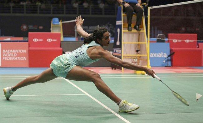 India\'s Pusarla V. Sindhu returns a shot to Taiwan\'s Tai Tzu Ying during women\'s single\'s semifinal match at the Malaysia Badminton Open in Kuala Lumpur, Malaysia, Saturday, June 30, 2018.AP/PTI