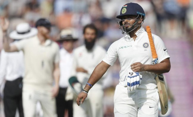 India\'s wicketkeeper Rishabh Pant walks off the pitch after being given out lbw off the bowling of England\'s Moeen Ali during play on the second day of the 4th cricket test match between England and India at the Ageas Bowl in Southampton, England, Friday, Aug. 31, 2018. England and India are playing a 5 test series. AP/ PTI