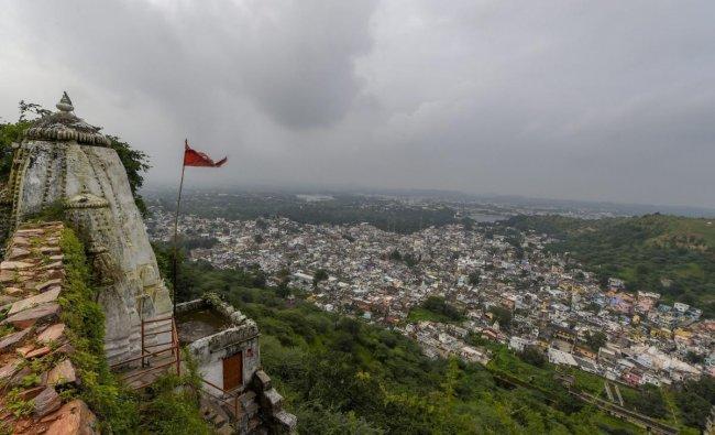 A view of the Dungarpur city on Saturday, Sept 1, 2018. (PTI Photo/Atul Yadav)