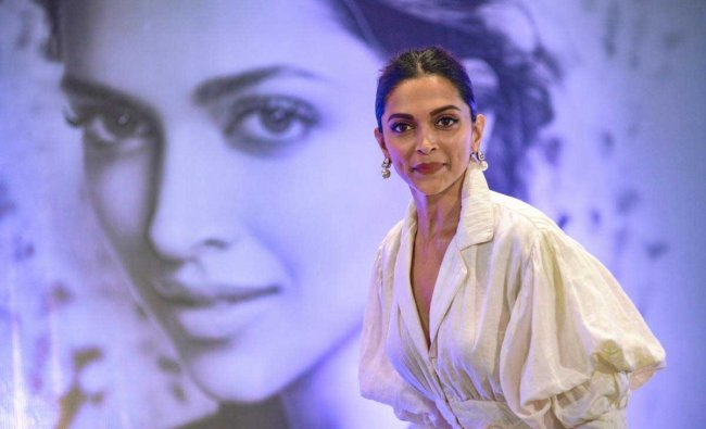 Bollywood actor Deepika Padukone during a talk on \'Finding Beauty in Imperfection\' organised by FICCI Ladies Organisation (FLO), in New Delhi, Saturday, Sept 8, 2018. (PTI Photo)