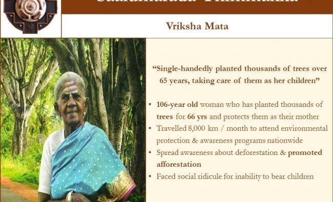 Vriksha Mata: Saalumarada Thimmakka from Karnataka