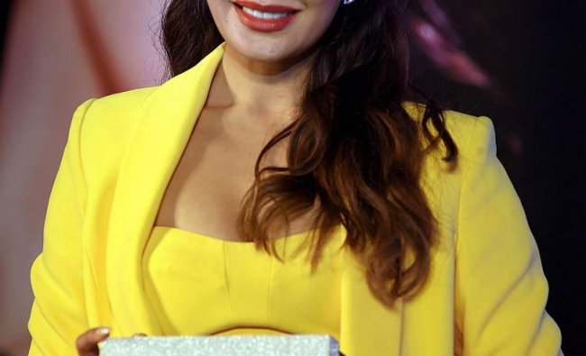 Bollywood actress Jacqueline Fernandez at a promotional event, in Mumbai, Thursday, March 28, 2019. (PTI Photo)