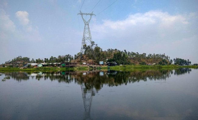 A view of the Karang island, India\'s first cashless island, in Manipur, Tuesday, April 16, 2019. There are very few signs to show that the island is excited for the general elections as the fisherfolk of this idyllic place is engaged in their daily struggles to earn a livelihood. PTI