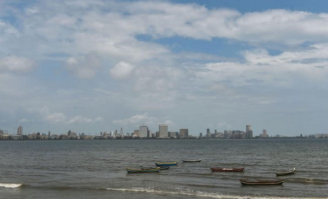 A view of the skyline of the city of Mumbai, Wednesday, June 26, 2019, during the Monsoon season. (PTI Photo)