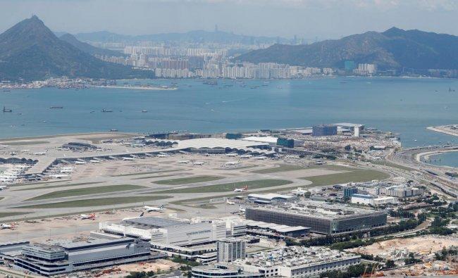 A general view of Hong Kong International Airport (Reuters Photo)