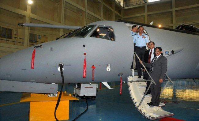 Air Chief Marshal NAK Browne with DRDO Director General V K Saraswat and D G Elangovan...