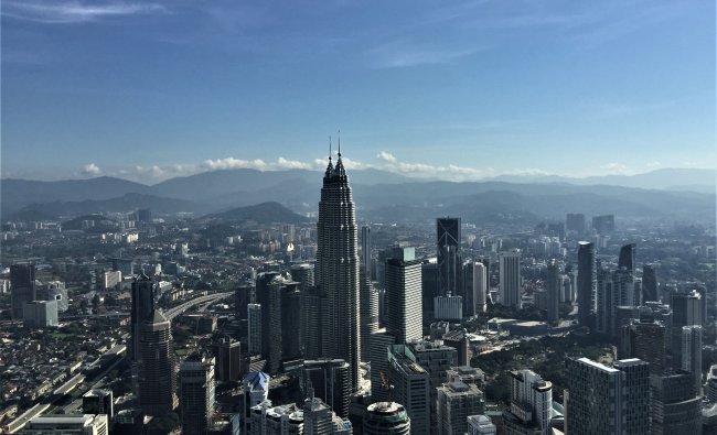 Petronas Towers at Kuala Lumpur, Malaysia. Photo by Lawrence Rodrigues