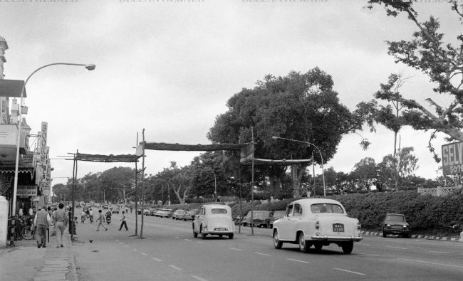 MG Road through the years