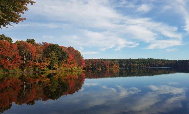 Sudbury lake, Boston USA. Clicked by Vishwas K Bharadwaj
