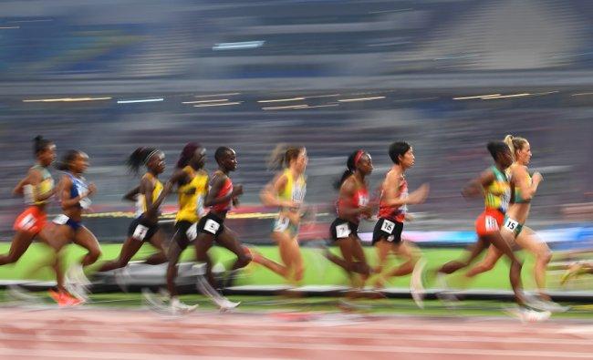 Women\'s 10,000 Metres Final - Khalifa International Stadium, Doha, Qatar. (Reuters)