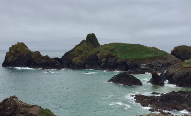 Kynance Cove in Cornwall England. Clicked by Shobha