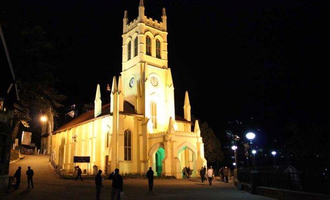 Christ Church in Shimla. Photo by Sudhansu R Das