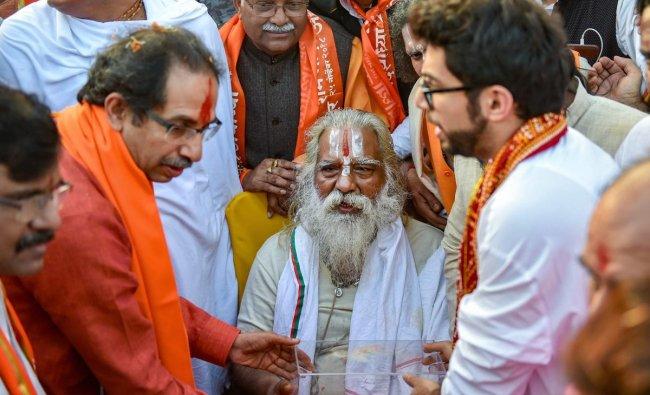 Mahant Nritya Gopal   Mahant Nritya Gopal, the chief of the Ram Janmabhoomi Nyas and Shri Ram Janmabhoomi Teerth Kshetra, was also accused in the Babri Masjid case. Credit: PTI