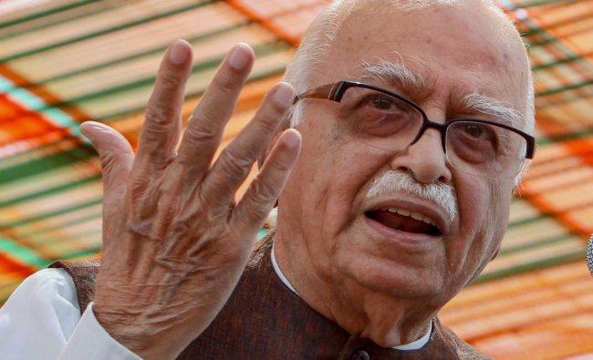 L K Advani   He led the Ram Temple Movement and \'karsevaks\' to Ayodhya, stirring political communalism. Credit: PTI